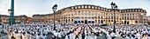 "France, Paris, Place Vendome, 28th edition the ""Dinner in White"" of June 8, 2016"