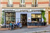 Frankreich, Paris, Montmartre-Hügel, Rue Lepic