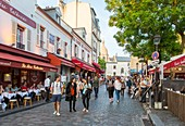 France, Paris, hill of Montmartre, Tertre square
