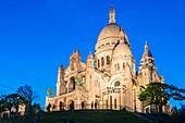 Frankreich, Paris, Montmartre-Hügel, Basilika Sacré-Coeur
