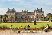 France, Paris, the Luxembourg Gardens, the Senate