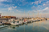 France, Gironde, Le Verdon sur Mer, Port Medoc, the marina