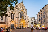 France, Gironde, Bordeaux, area listed as World Heritage by UNESCO, Saint Pierre district, St. Pierre church