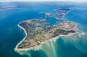 France, Charente Maritime, Ile de Re (aerial view)