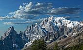 Mont Blanc im Aostatal, Italien