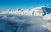 Kanton Wallis in den Schweizer Alpen, Schweiz