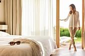 France, Morbihan, La Gacilly, room in hotel the Gree des Landes AUTORISATION NECESSAIRE AVANT PUBLICATION