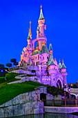 France, Seine-et-Marne, attraction park of Disneyland