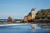 France, Pyrennees Atlantique, Basque Country, Biarritz, villa Belza