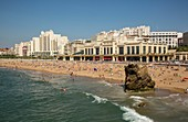 France, Pyrennees Atlantique, Basque Country, Biarritz, Casino de la Grande Plage