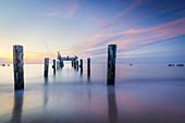 Strand von Uniescie an der Ostsee, Westpommern, Polen