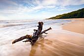Rozewie beach on the Baltic Sea, Pomerania, Poland