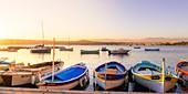 Hafen von Olivette bei Antibes, Département Alpes-Maritimes, Provence-Alpes-Côte d'Azur, Côte d'Azur, Frankreich