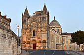 France, Charente, Angouleme, St Pierre cathedral
