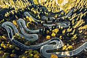 Malojapass, Maloja, Castasegna, Oberengadin, Engadin, Schweiz, Europa