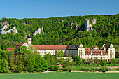 Beuron Monastery, Upper Danube Valley, Danube Cycle Path, Baden-Württemberg, Germany