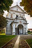 Viggiona Church, Lake Maggiore, Piedmont, Italy