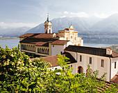 Sanctuary of Madonna del Sasso, Locarno, Lake Maggiore, Italy