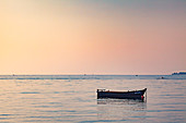 Evening mood in Porec, Istria, Croatia