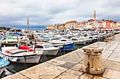 Rovinj harbor, Istria, Croatia