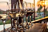 Wine tasting at Red Mountain Winery, Inle Lake, Heho, Myanmar