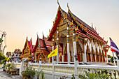 Wat Sala Kun - Temple on Koh Kret, Bangkok, Thailand