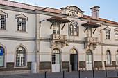 Old train station, Caldas de Rainha, Portugal