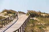 """View over dunes and beach """"Praia d'El Rei, Amoreira, Portugal"""