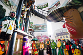Narrenmuseum in the water tower, Rheinfelden, Baden, Black Forest, Baden-Württemberg, Germany