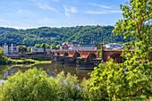 Roman Bridge, Trier, Moselle, Rhineland-Palatinate, Germany
