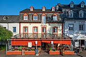 Restaurant am Zurlaubener Ufer, Trier, Mosel, Rheinland-Pfalz, Deutschland