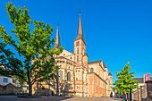 Rear view of the cathedral, Trier, Moselle, Rhineland-Palatinate, Germany