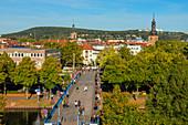 Blick auf die Alte Brücke, Saarbrücken, Saarland, Deutschland