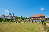 Castle church and orangery in Blieskastel, Saarland, Germany