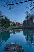 Castle park Castell, Kitzingen, Lower Franconia, Franconia, Bavaria, Germany, Europe