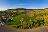 Landscape near Iphofen, Kitzingen, Lower Franconia, Franconia, Bavaria, Germany, Europe