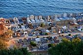 France, Var, Saint Tropez, marine cemetery