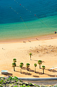 Las Teresitas beach, Santa Cruz de Tenerife, Tenerife, Canary Islands, Spain, Europe