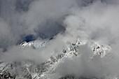 Der Berg Wanneck ist Teil der Mieminger Kette, Tirol, Österreich