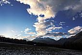 Rauchberg, Heiterwand, Schlierskopf, Arlesspitze, Mieminger Kette, Tirol, Österreich