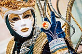 Italy, Veneto, Venice, listed as World Heritage by UNESCO, carnival, traditional Italian festival dating back to the Middle Ages