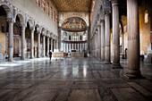 Italien, Latium, Rom, Aventino-Hügel, Aventino-Viertel, Giardino degli Aranci, Orangengarten, Basilika Santa Sabina