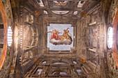 Italy, Emilia Romagna, Parma, Chuch of Chiesa di Santa Teresa di Gesù, details of paintings