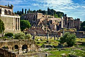 Italy, Lazio, Rome, historical centre listed as World Heritage by UNESCO, district of Roma Antica, roman forum