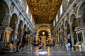 Italy, Lazio, Rome, historical centre listed as World Heritage by UNESCO, district of Roma Antica, Basilica Santa Maria in Aracoeli of the VIth century