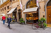 Italy, Tuscany, Florence, historical centre listed as World Heritage by UNESCO, via Dei Tavolini, Cantinetta dei Verrazzano
