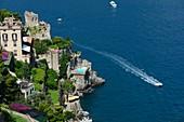 Italy, Campania, Amalfi Coast, listed as World Heritage by UNESCO, San Cosma, Villa Scarpariello hotel