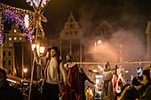 Koledari procession in Wroclaw, Poland, Europe