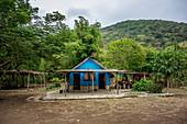 Rest area on Malekula, Vanuatu, South Pacific, Oceania