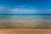 Sky sea and beach on Malekula, Vanuatu, South Pacific, Oceania